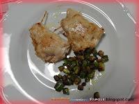 Fagottini di lonza di maiale con ripieno di ricotta e zucchine