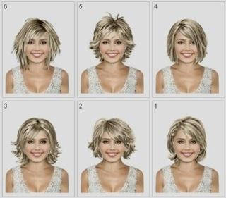 frisur ausprobieren kostenlos frisuren kurze haare