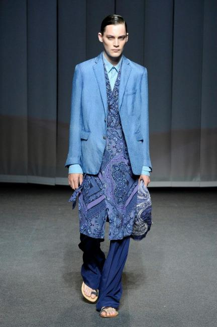 Etro Spring-Summer 2013 Menswear Photo 4