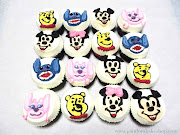 Custom Cartoon Character Cupcakes. Posted by pandora bakeshop at 7:52 AM