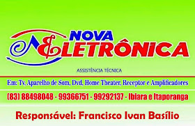 Nova Eletrônica - Ibiara e Itaporanga-PB