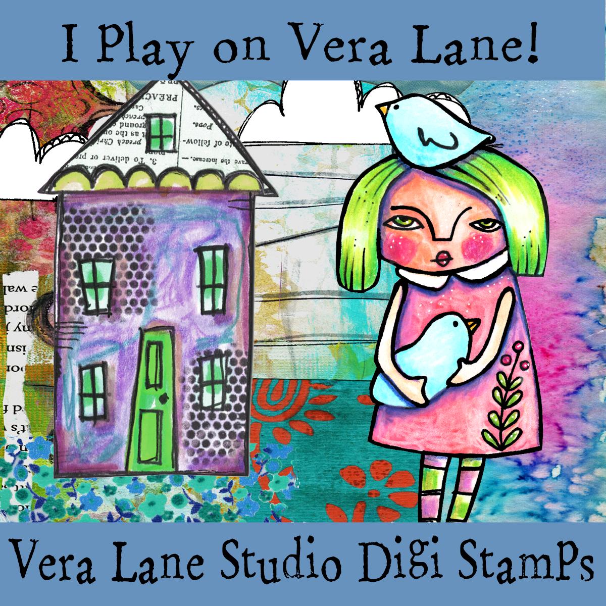 Vera Lane Studio Digi Stamps