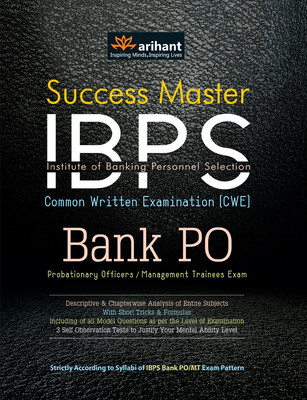 Success Master IBPS CWE Bank PO Probationary Officers / Management Trainees Exam - Arihant Experts