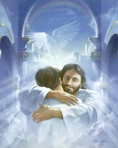 """""""¿Quién es Dios para vosotros?"""" Jesus-abrazo"""