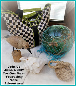The Traveling Tote #11 June 1st 2017 plus Giveaway