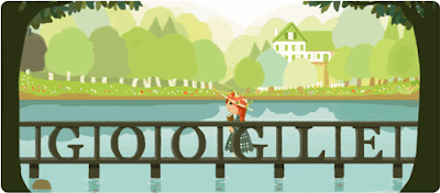 Google Doodle for Lucy Maud Montgomery