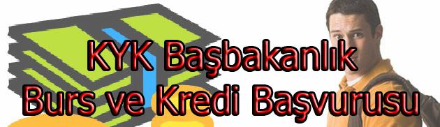 KYK Burs ve Kredi Başvuruları 2015-2016