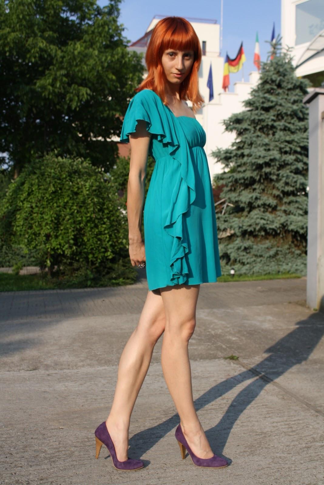 Teal Dress Shoes Color