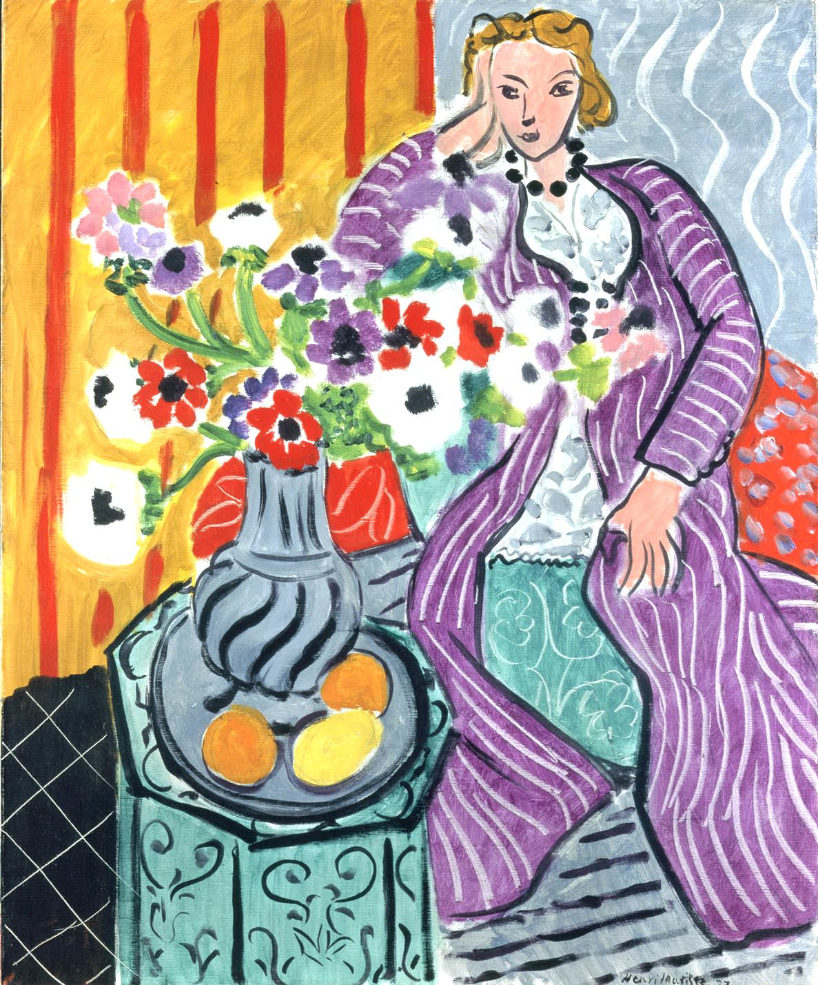 The provence post nice celebrates matisse until september 23 for Artistic mural works