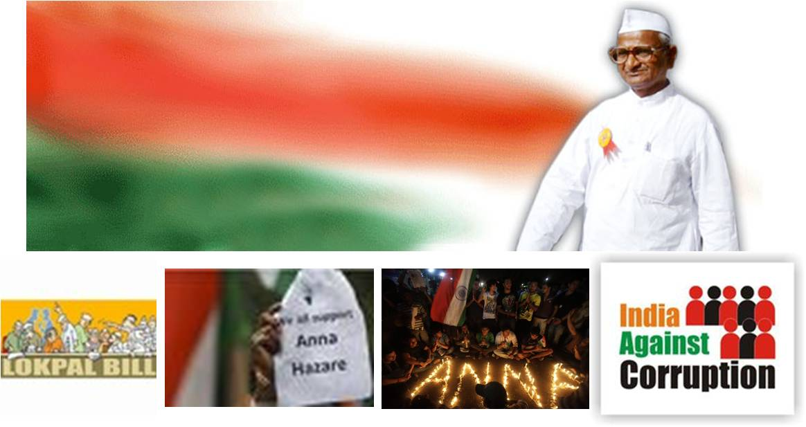 essay on anti corruption movement in india by anna hazare In india, the civil society movement that forced parliament to back activist anna hazare's demand for tougher anti-corruption legislation is being seen as a.