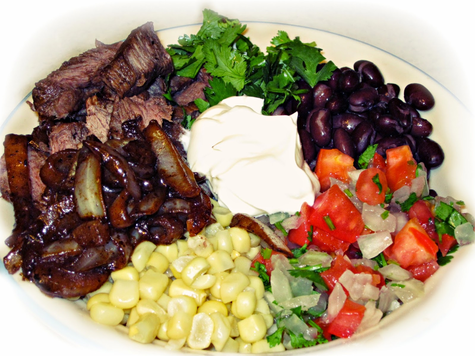 Southwest Steak Bowls: AJcrazies by AJK