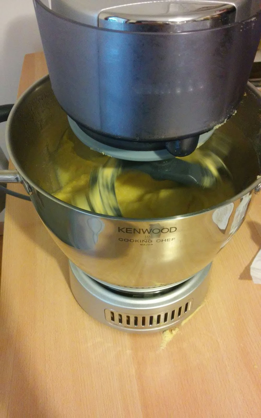 me e la cucina...: Polenta con Cooking Chef Kenwood