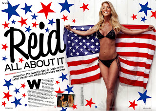 Tara Reid Photo shoot, Loaded Magazine Cover shoot