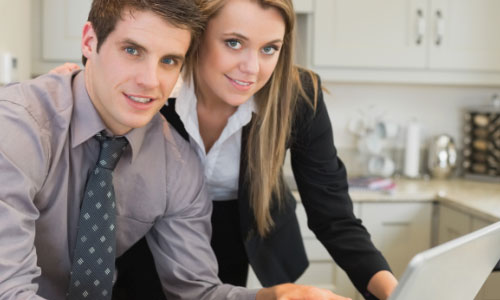 7 Reasons You Should Support Your Girlfriend's Dreams,man woman work dressed officially office company