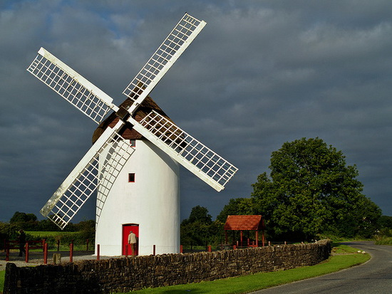Strange Windmills in Ireland