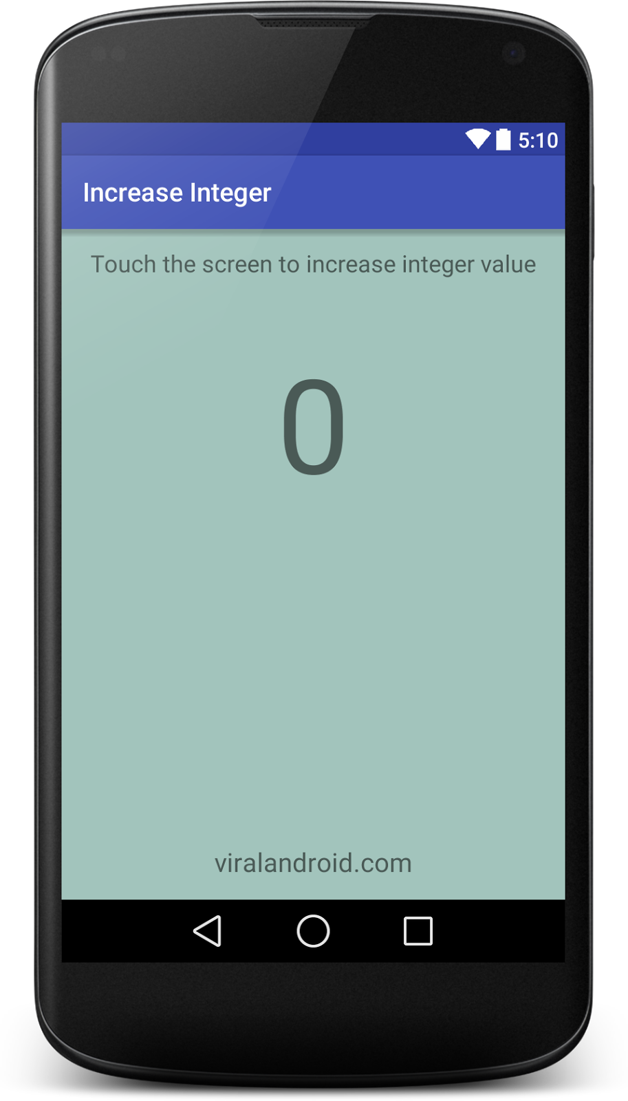 How to Increase Integer Value When Screen is Touched