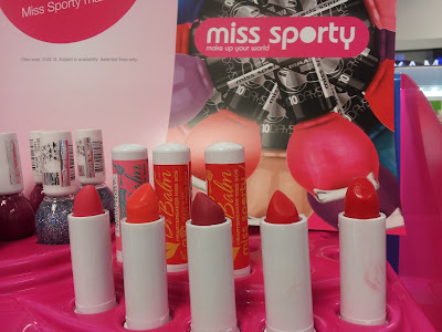 Miss Sporty Dr Balm swatches 01 Sweet Kiss 03 Gossip 05 Honeymoon 02 Glam kiss 04 Heartbreaker