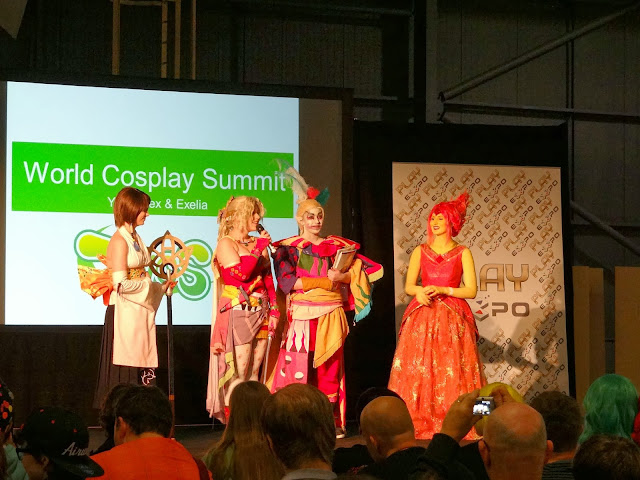 Play Expo 2013, Video games exhibition UK, World Cosplay Summit