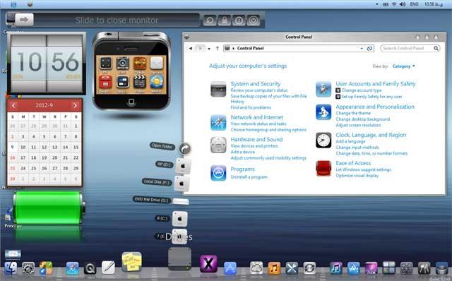 Windows 8 as iOS 6
