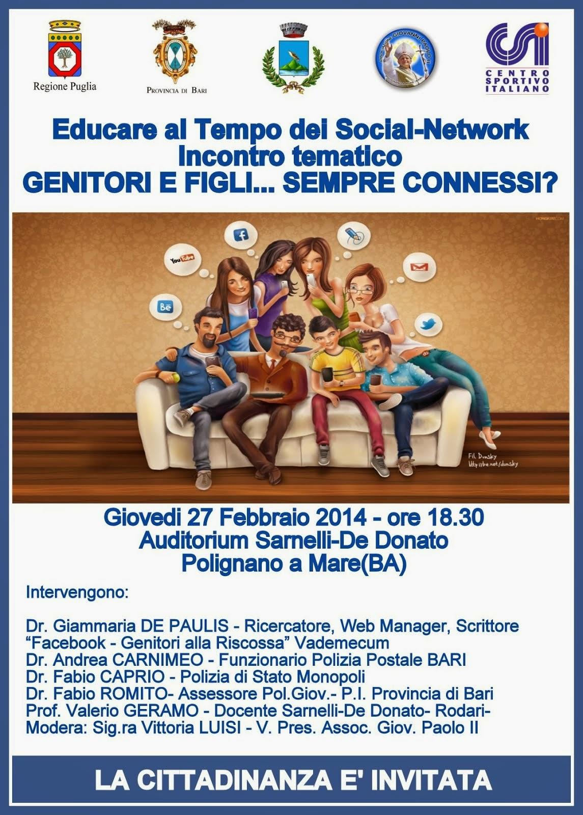 Educare al Tempo dei Social-Network