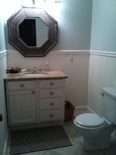 Elegant Unique Furniture Bathroom Vanity Hall Bath Of Flip House