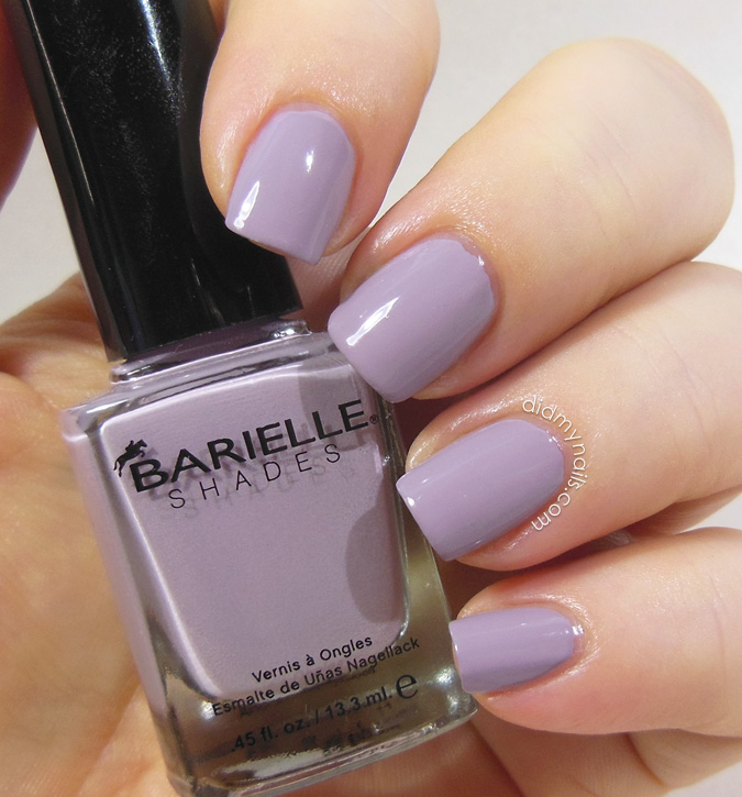 Barielle Lilac Jelly Bean swatch