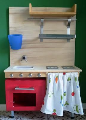 La felice stagione scatole no cucina giocattolo fai da te - Cucina ikea per bambini ...