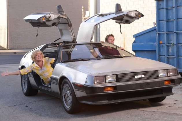 Raising Hope DeLorean