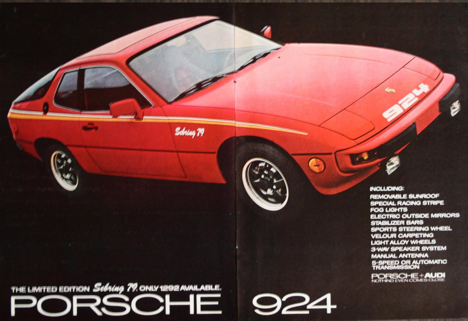 porsche 924  1979 sebring