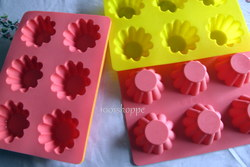 SILICONE FLOWER PUDDING/CAKE PAN