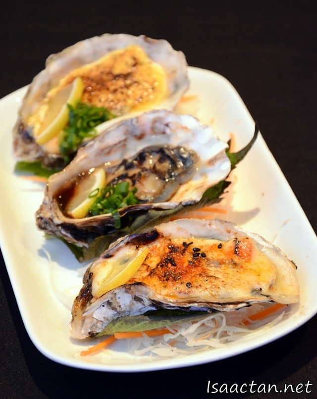 Namagaki Moriawase (Baked Oysters) - RM22++