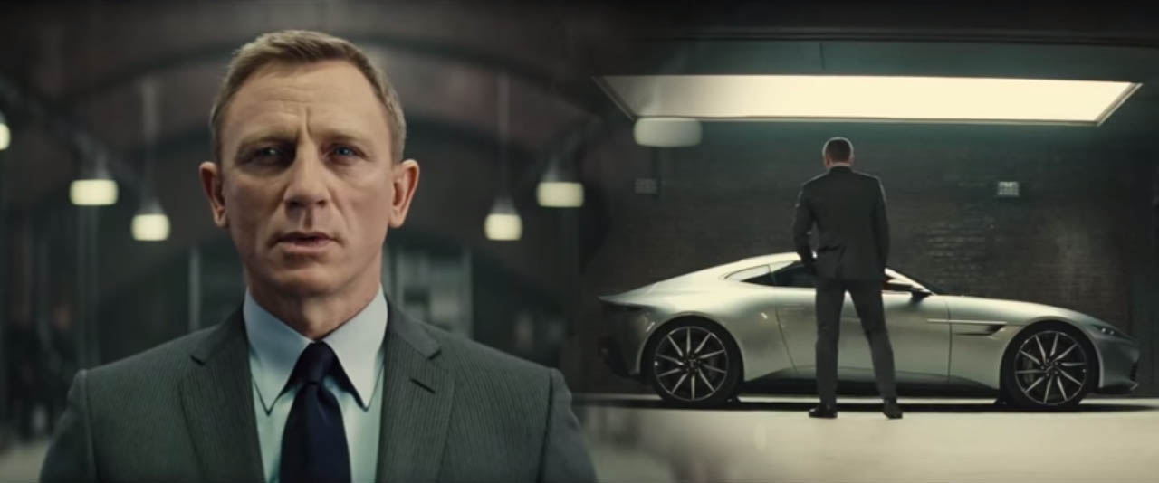 Spectre 2015 action movie featuring Daniel Craig as James Bond Mi6 Bond gadgets and Bond Car