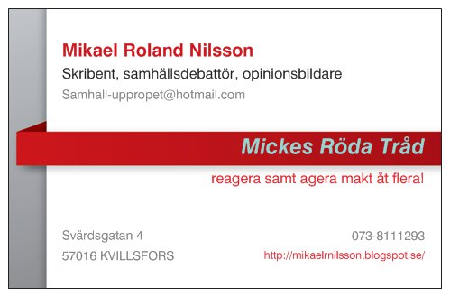 Mickes Röda Tråd!