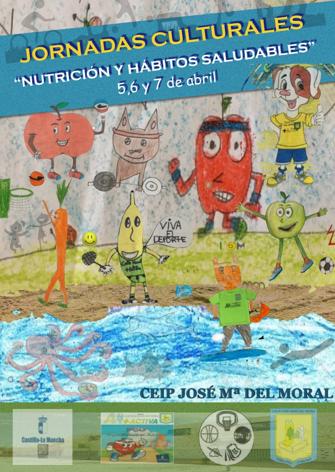 """JORNADAS CULTURALES: """"NUTRICIÓN Y HÁBITOS SALUDABLES"""""""