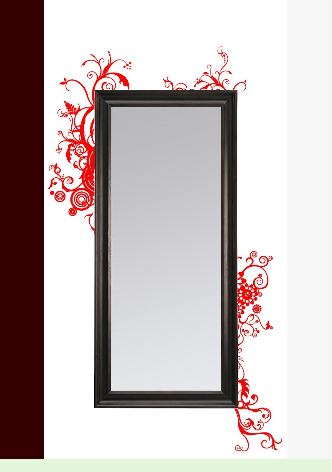 Eri gg francesismi 2 decorazioni attorno allo specchio - Decorazioni muro ikea ...