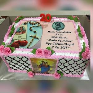 6KG Rosary Bloc Anniversary Cake