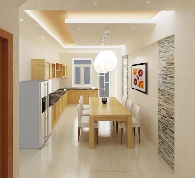 Kiến trúc đơn giản cho nhà phố