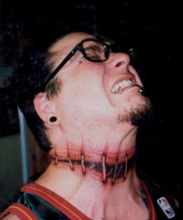 3D Stich Tattoo