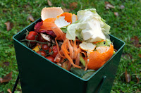Recycling vegetables for compost