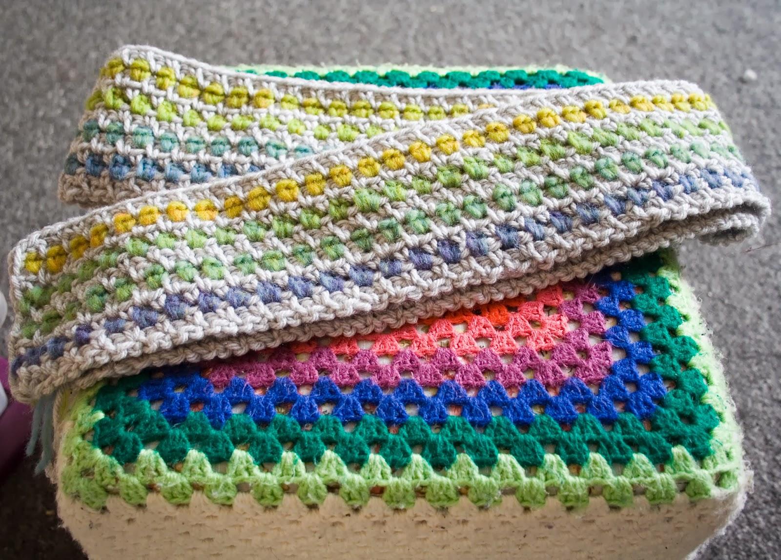Crochet K Stitch : Hazels Crochet: Funky Stitch Scarf