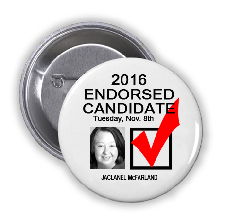RACE FOR DISTRICT JUDGE, 133RD JUDICIAL DISTRICT -- Jaclanel McFarland