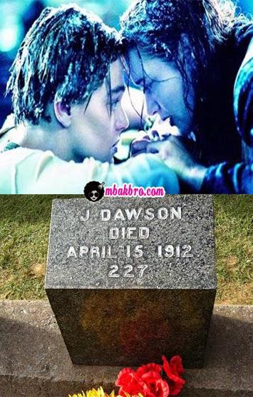 Jack Dawson dan makamnya