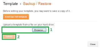 restore template blog