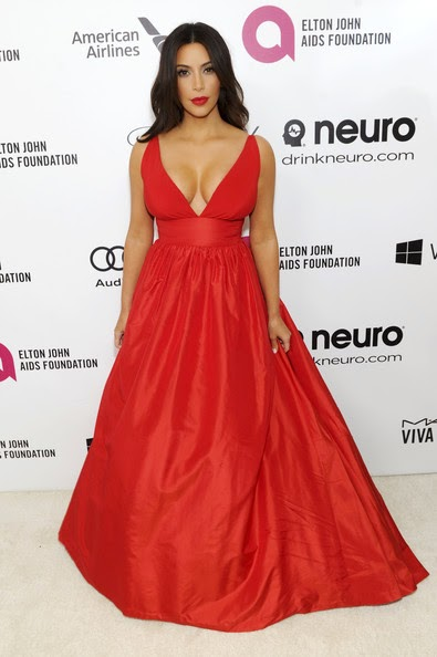 kim kardashian red ball evening dress