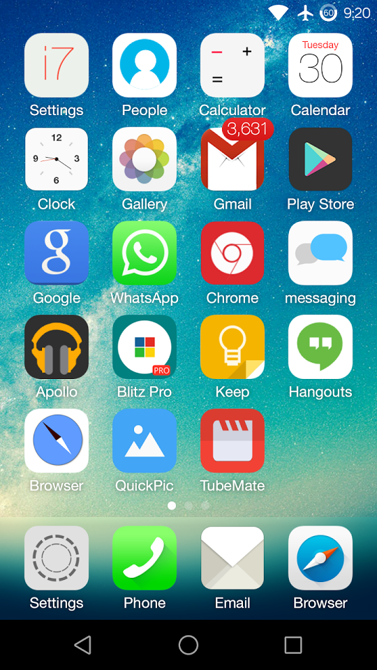 Download OS 9 Launcher
