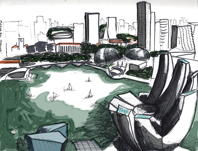 singapore urban sketchers