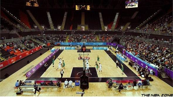2012 London Olympics Basketball Schedule Announced : Basketball Arena