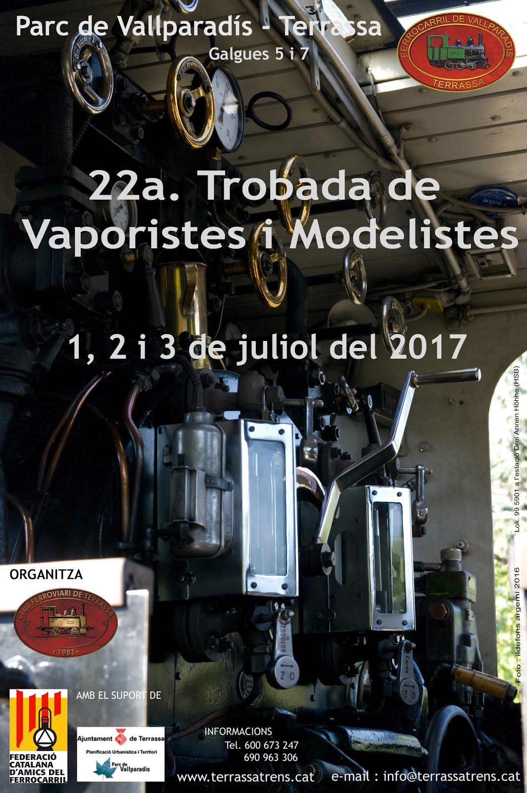 22a. Trobada de Vaporistes i Modelistes