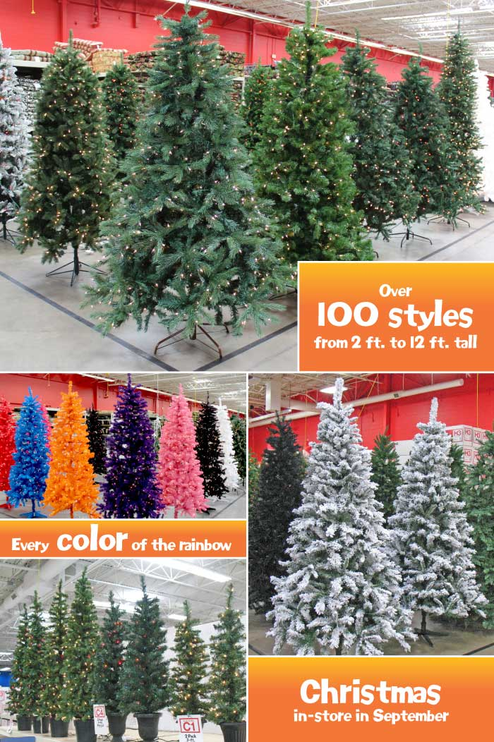 Charming What Color Is Your Christmas Tree? Check Garden Ridge!
