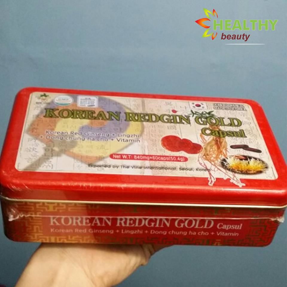 VIÊN SÂM KOREAN REDGIN GOLD